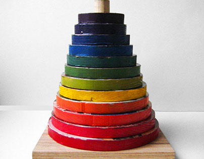 Hierarchy Toy-Donate-able Sculpture
