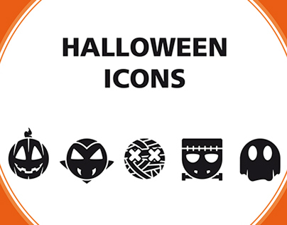 Halloween Icons (college project)