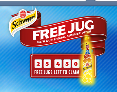 Schweepes Free Summer Jug campaign