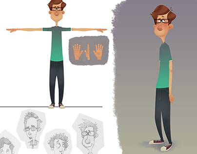Character concept design