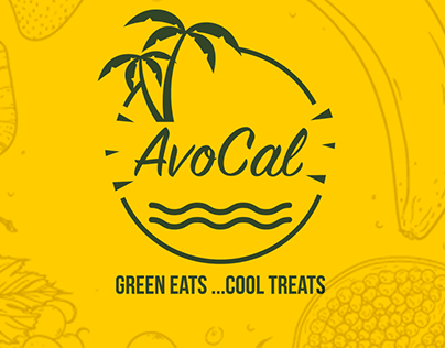 Avocal for Healthy food (Trifold-Menu)