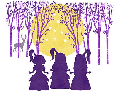 Children's Book Illustration - Le fiabe di Miriana