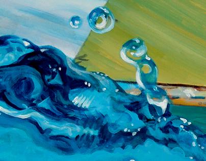 Ocean Paintings 2012