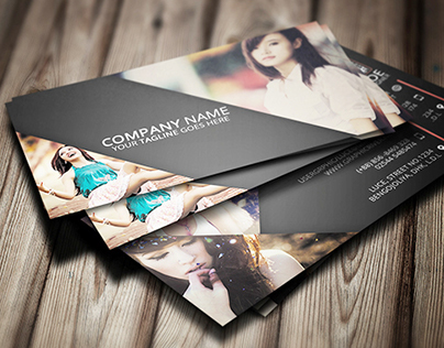 Creative Modern Photography Businesscard Template v.10