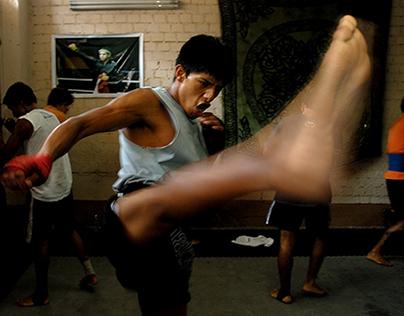 Zorrillo, peleador de Muay Thai
