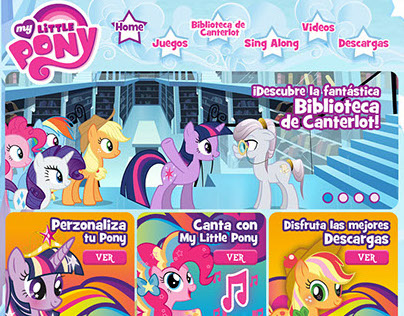 Sitio My Little Pony // Discovery Kids
