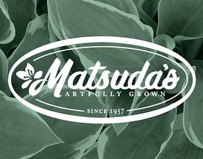 Matsuda's Nursery Rebrand