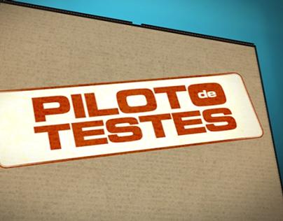 Vinheta Piloto de testes