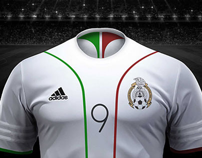 c350b1ab0 Mexico soccer jersey design on Behance