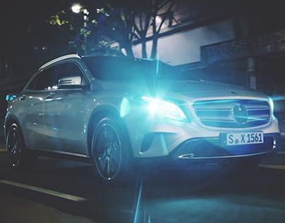 Mercedes GLA #LiveRestless | Promo