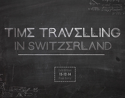 Time Travelling in Switzerland Typeface
