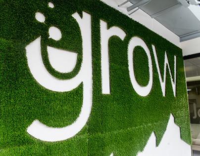 """gSchool """"Grow"""" Wall"""