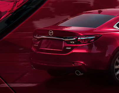Mazda6 - Soul Red Crystal CGI