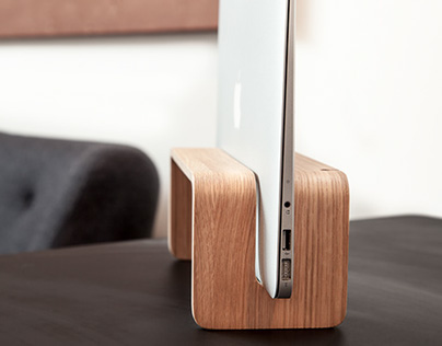 Vertical MacBook Stand