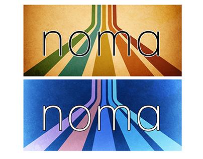 Retro style Noma.