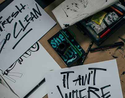 Hand Lettering 2014