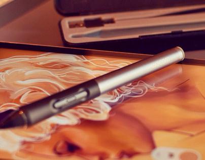 DigitalSketch - iPad & Intuos Stylus2