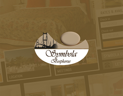 Symbola Bosphorus Hotel Web Site