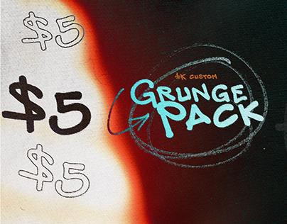 GRUNGE - An asset pack by Mason M (FREEBIE)
