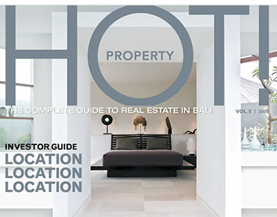Hot Property - Magazine Design