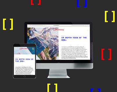 Primary   Website Design