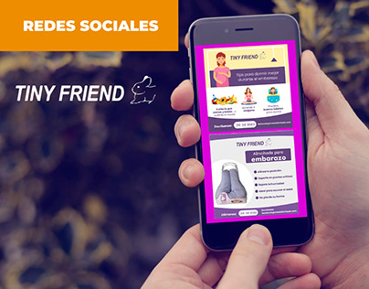 DISEÑO POST REDES SOCIALES: TINY FRIEND