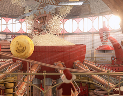 """Parmareggio """"The grated Parmesan cheese factory"""" 2014"""