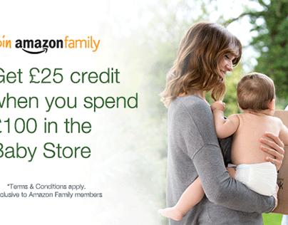 Amazon Family - Web Ad Campaign