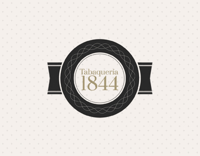 Tabaquería 1844 Branding