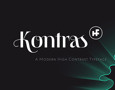 Kontras Typeface