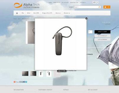 Alphatech Website