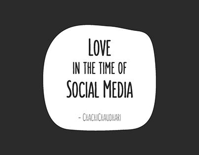 Love in the time of Social Media