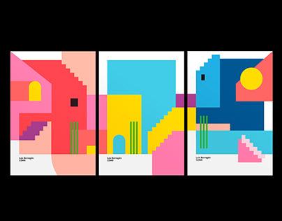 Luís Barragán | Poster Serie Limited Edition