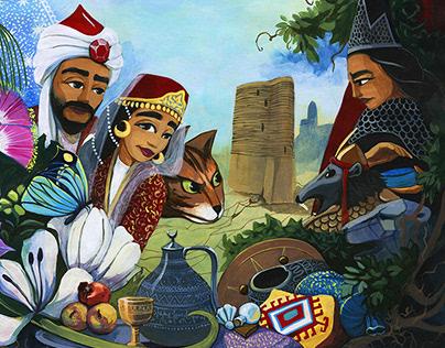 Illustrations - Magical Journey children's book
