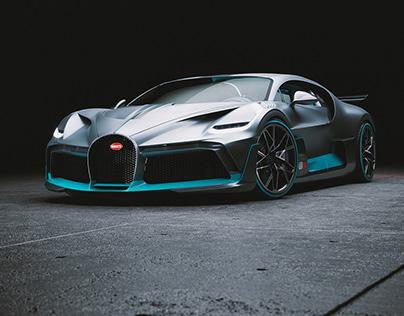 Bugatti Divo CGI