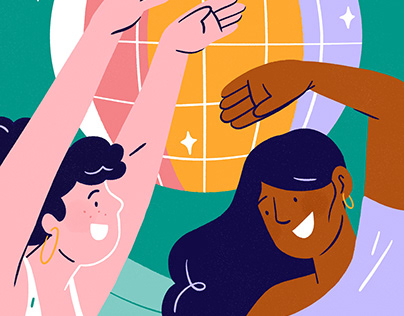 Nightclub illustrations serie