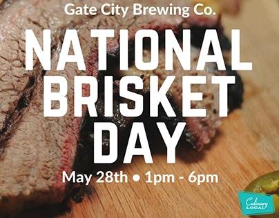 Gate City: National Brisket Day