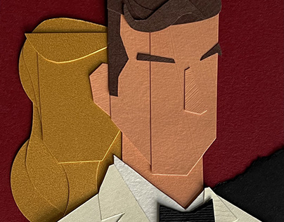 The Paper Faces of Sean Connery