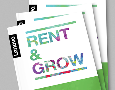 Lenovo Rent & Grow sales brochure