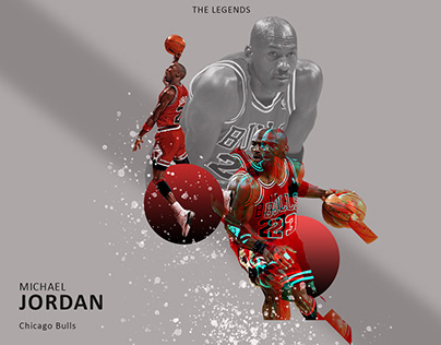 Michael Jordan Poster design