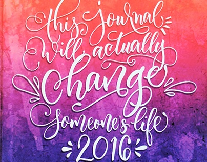 Tis Journal Will Actually Change Your Life Planner 2016