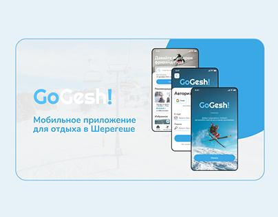 Mobile App for ski resort