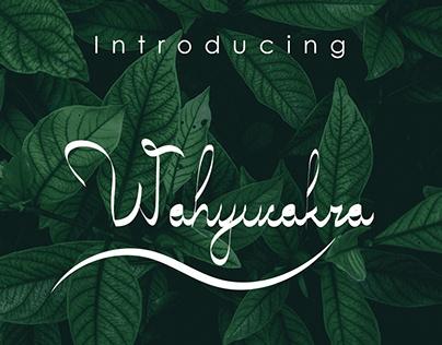 WAHYUCAKRA TYPEFACE