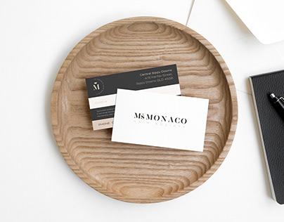 New Logo design & Brand collateral - Ms Monaco - 2020