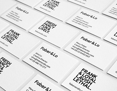 Faber & Lo Branding