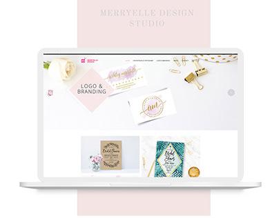 Merryelle Wordpress Redesign