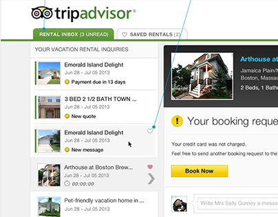 TripAdvisor - Vacation Rental Inbox Enhancement