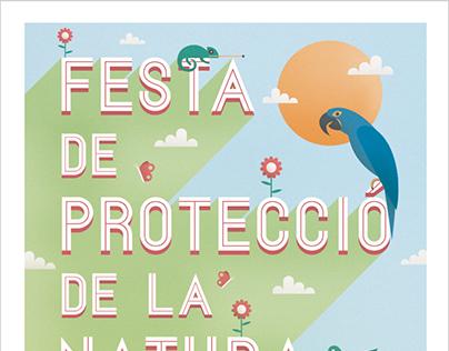 Cartel Festa de Protecció de la natura