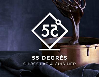 55 Degrés - Cooking chocolate