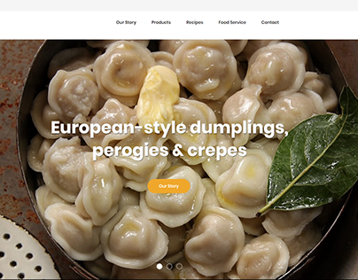 Ecommerce WordPress Website Design for a Pasta Brand